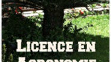 Licence en Agronomie